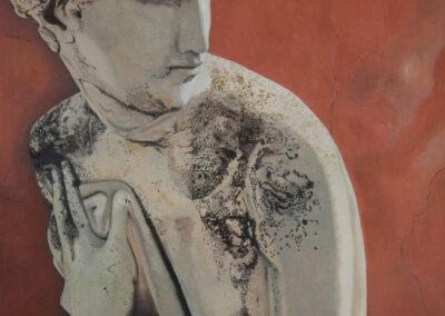 Hilda Boer - Roma fuori le mura - 2010 - olieverf op doek - 100 x 70 cm