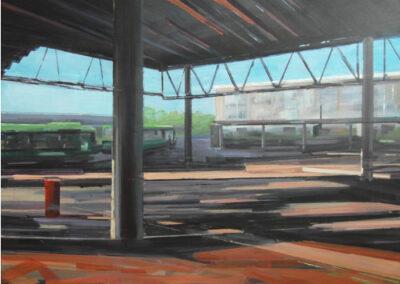 Tjits van der Kooij - Amstelveen busstation