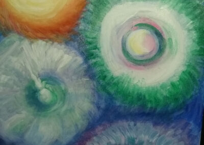 Alison Korthals Altes - Kosmische hulpbronnen - 30 x 50 cm