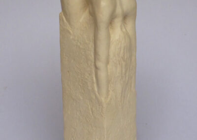Dieuwke Tamsma - Rug - 2019 - keramiek - 33 x 10 x 10 cm