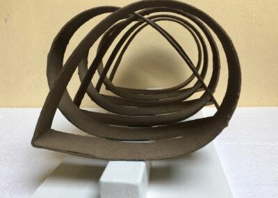 Rud Perrée - Openhartig - 2020 - polyester - 45 x 25 x 25 cm