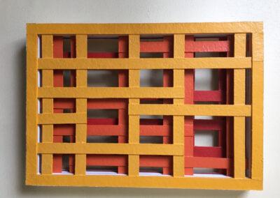 Rud Perrée - Vergezicht - 2020 - polyester - 60 x 40 x 7 cm