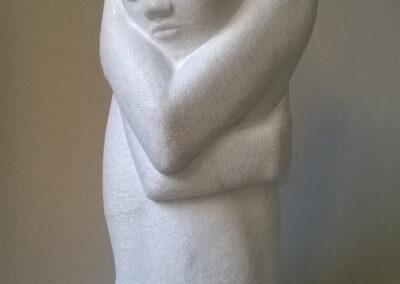 Kees Reek - Liu li tun - Portugees marmer - 42 x 18 x 16 cm