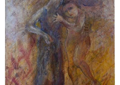 Diane Lekkerkerker - Je t'aime encore - 2018 - acryl op doek - 40 x 30 cm