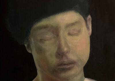 Chantal van Houten - Zachte jongen - 2019 - olieverf op canvas - 61 x 45 cm.