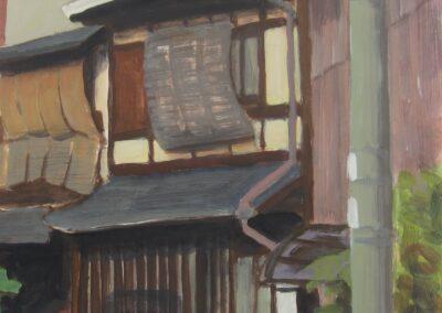 Imadegawa-dori2acrylic-on-paper-42x42-cm-Kyoto-2011