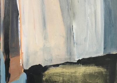Ruth van de Pol - No trip - 2020 - Acryl op triplex - 40 x 30 cm