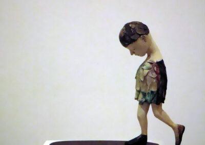 Corjan Nodelijk - Moonwalk - 2021 - Sculptuur - Gemengde techniek - 35 x 30 x 14 cm