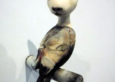 Corjan Nodelijk - Slaap - 2020 - Sculptuur - Gemengde techniek - 25 x 10 x 25 cm