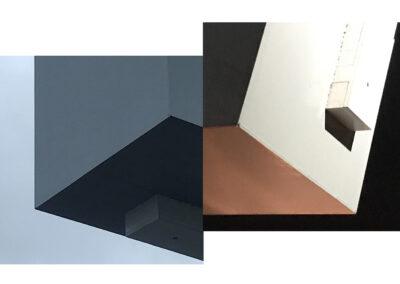 Nynke Vissia - I need a spaceship too - 2020-2021 - fotografie (2020) collage (2021) - Canvas Platine Art print - 70 x 44 cm